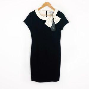 Sara Campbell Boston NWT Black Short Sleeve Sheath